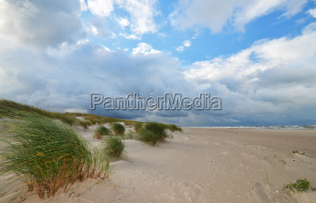sand beach at liepaja latvia