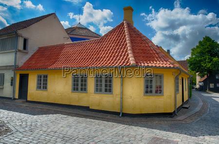 old, town, denmark, odense - 13520056