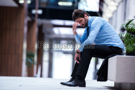 frustrated, young, business, man - 13524140