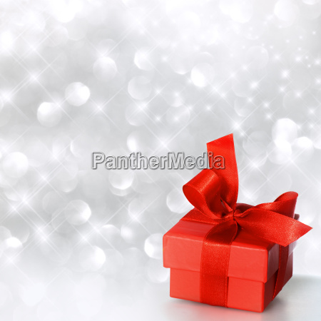 gift box in red