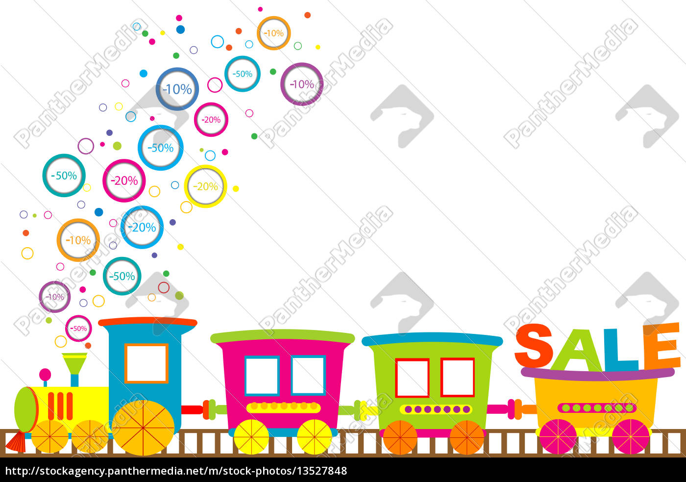 background, for, discount, sale, with, cartoon - 13527848