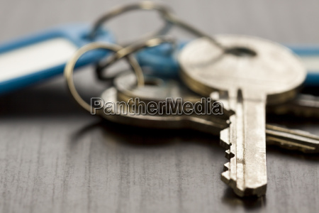 key key chain with pendant as