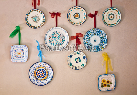 plates, decorated, by, hand, made, in - 13534988