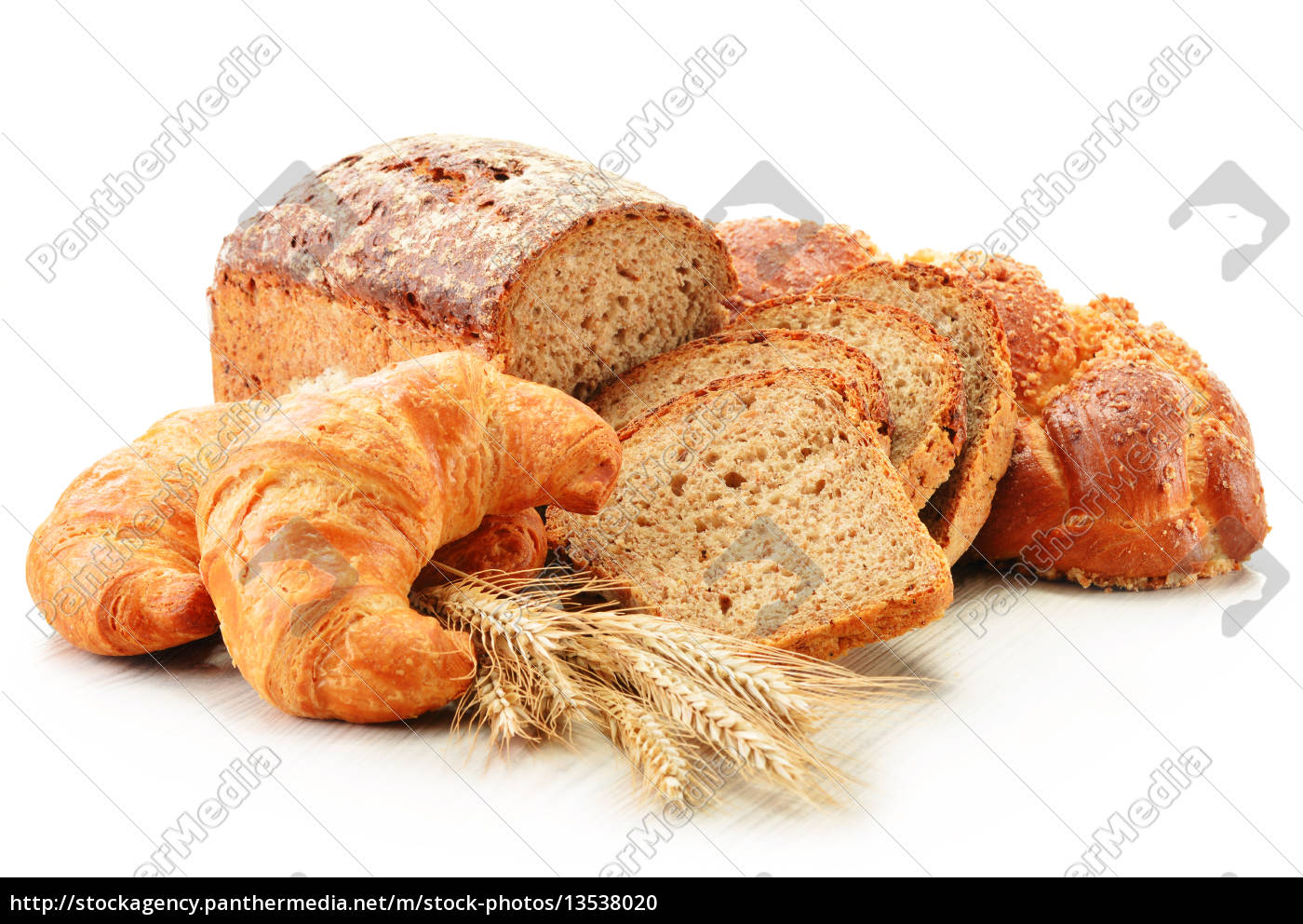composition, with, baking, products, isolated, on - 13538020