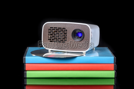 mini projector with dvd on dvd