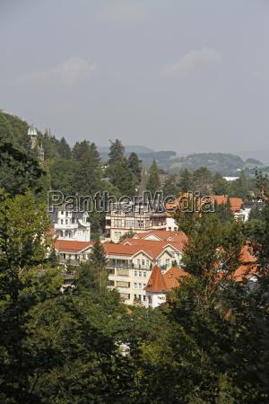 vista desde la colina del castillo