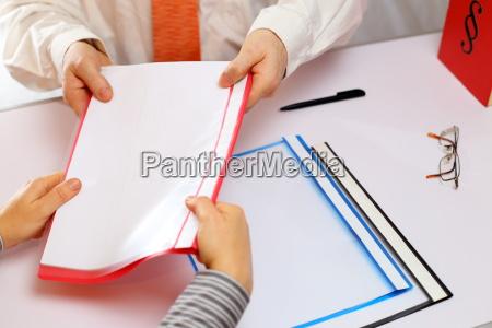 documents handover