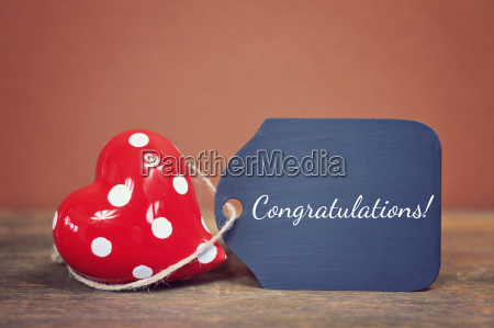 lovely greeting card congratulations