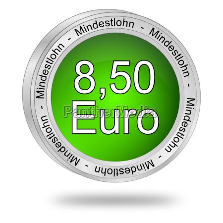 8 50 euro minimum wage