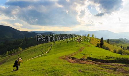 landscape photography in mizhhiria carpathians