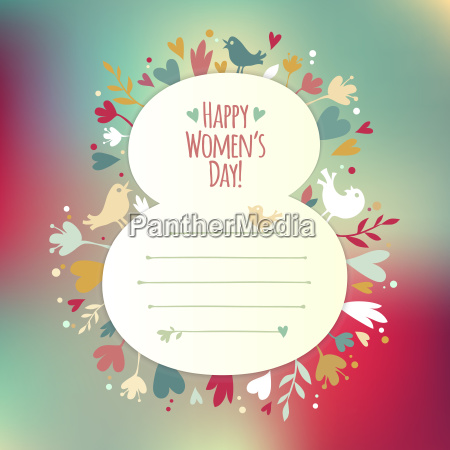 beautiful, instagram, card, for, women's, day - 13556684