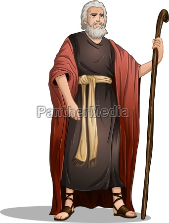moses, from, bible, for, passover - 13556050
