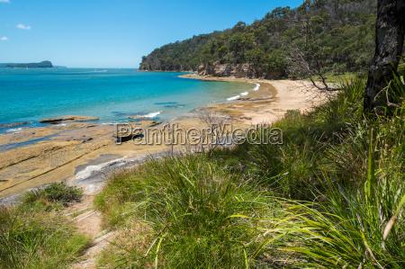 deserted australian beach