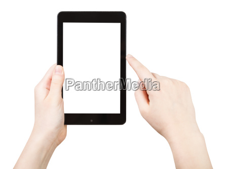 finger clicking touchpad with cut out