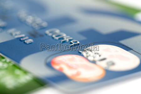 close up stacking credit cards