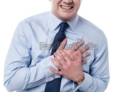 man has sudden heart attack