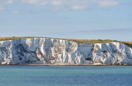 chalk cliffs at dover england