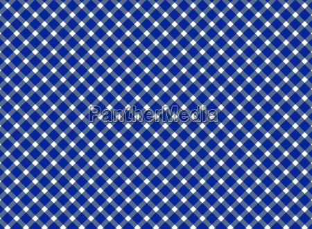 checkered table cloth pattern blue white
