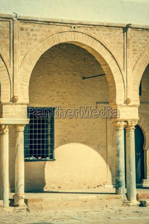 the great mosque of kairouan tunisia
