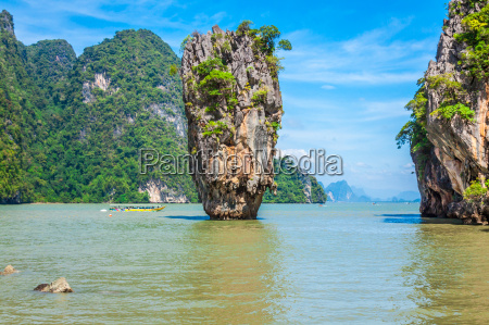 phuket james bond island in phang