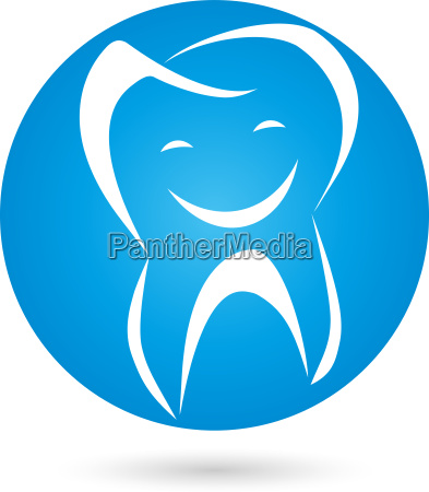 tooth logo ball smile