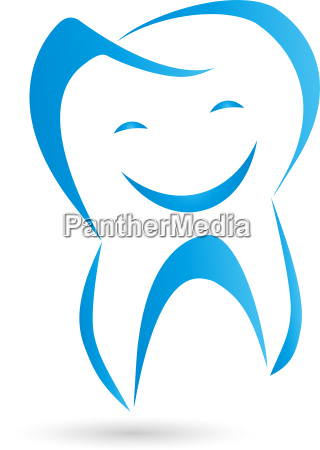 logo teeth laughter dentist logo