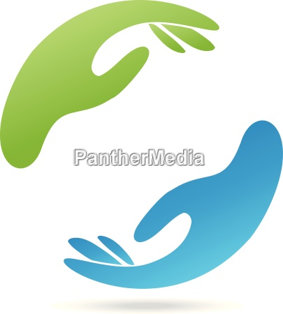 logo hands physiotherapy occupational therapy