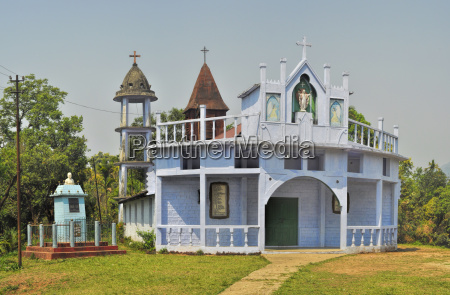 christian temple in india