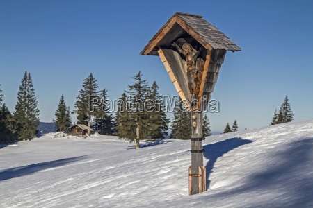 crossroads in the tegernsee alps