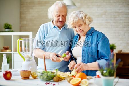 senior, vegetarians - 13621994
