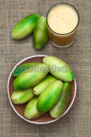banana passionfruit lat passiflora tripartita and