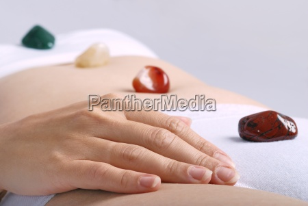 healing by gems laid on body