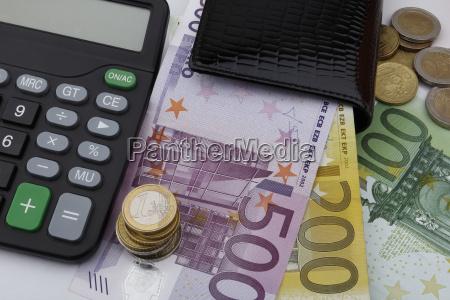euros eur notes and coins
