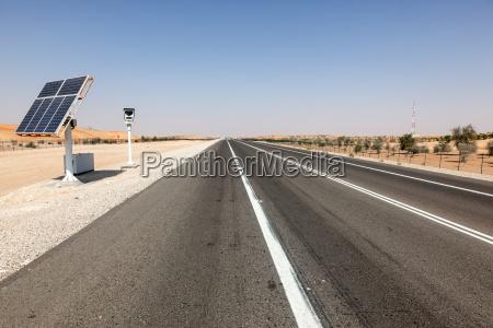 solar powered speed control camera on