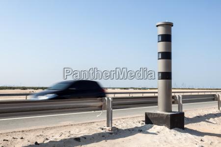 radar speed control camera at the