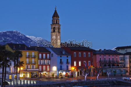 ascona switzerland bay in the