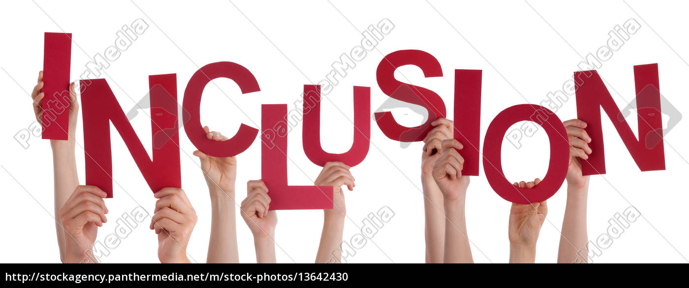 many, people, hands, holding, red, word - 13642430
