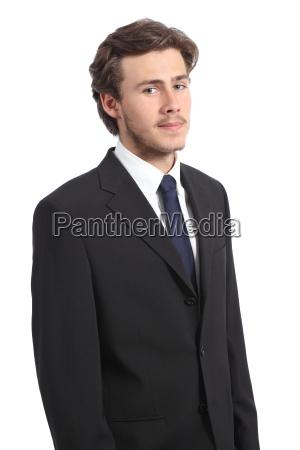 young serious business man portrait