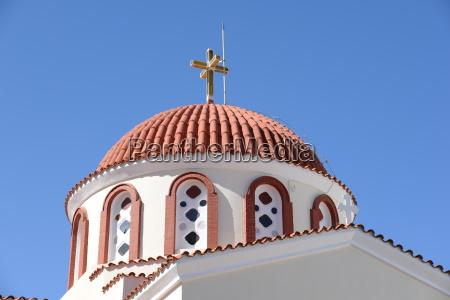 church in elounda crete