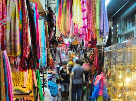 colorful chatuchak market thailand