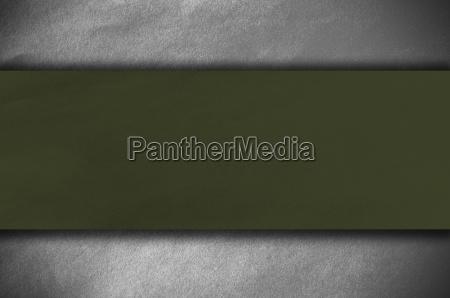 dark green papper on white background