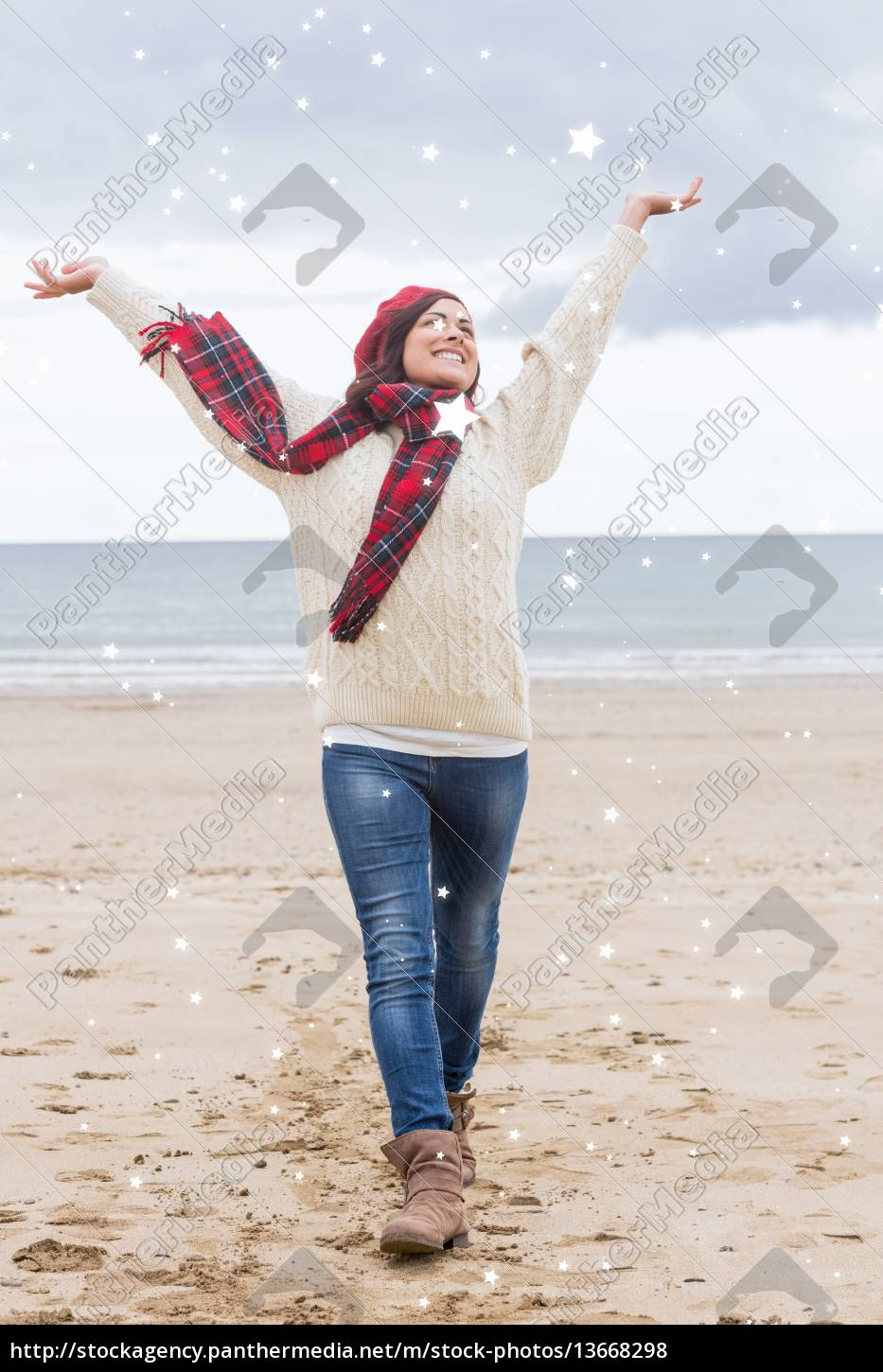 composite, image, of, woman, in, warm - 13668298