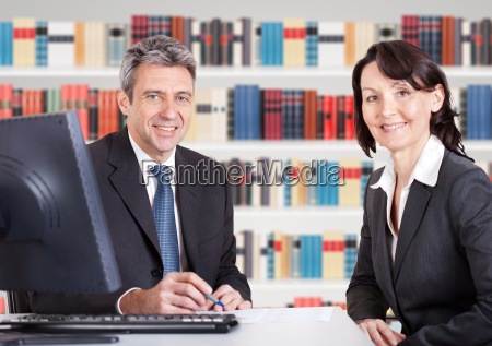 business people in the office at