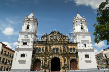 panama city central america cathedral in