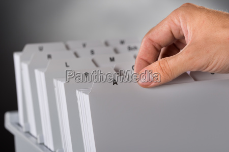 picking file from document archive