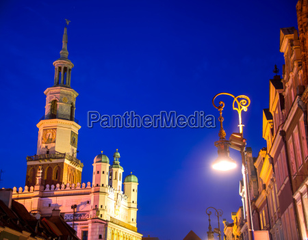 old market in poznan poland by
