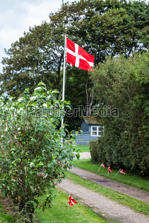 danish flags are visible on the