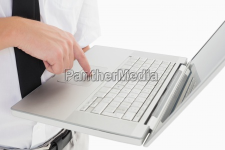 portatil computadoras computadora ordenador carrera dedo