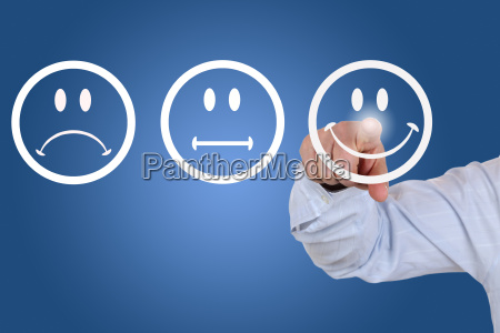 businessman in delivering an assessment with