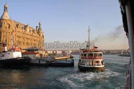 haydarpasa terminal in istanbul turkey